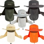 outdoor caps and hats with neck cover