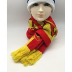 High resoultion knitted acrylic fans scarf