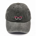 Washed classic cap