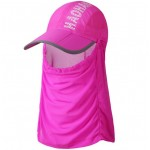 Sunshade hat with cover for face and neck