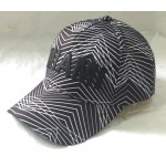 Baseball cap with PU logo patched
