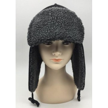 Fleece Lined Aviator Hat with Earflaps